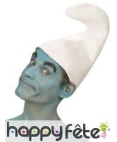 Chapeau blanc uni de nain, image 2
