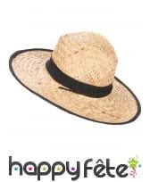 Chapeau Cowboy avec contour et ruban noir