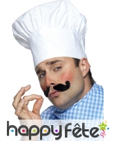 Chapeau chef blanc