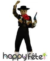 Costume cow boy vachette