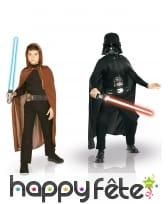 Coffret Costumes de Jedi et Dark Vador enfant