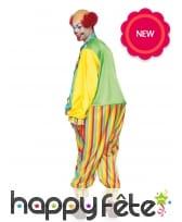 Combinaison colorée de clown pour homme, image 1