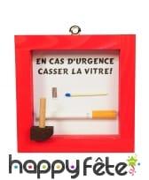 Coffret cigarette en cas d'urgence