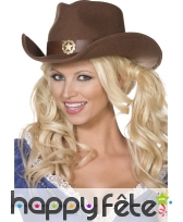 Chapeau cow girl