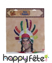 Chapeau chef indien, image 1