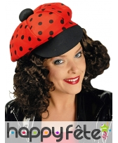 Casquette coccinelle old school