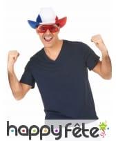 Chapeau cowboy pour supporter Francais, image 2