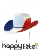 Chapeau cowboy pour supporter Francais, image 3