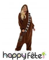 Combinaison Chewbacca pour adulte