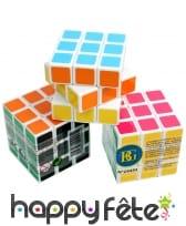 Cube casse-tête style rubik cube, 3cm3, image 1