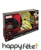 Cagoule Deadpool avec bulles de BD, image 1