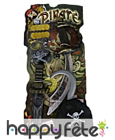 Carte d'accessoires de pirate