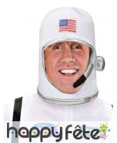 Casque d'astronaute usa pour adulte, image 2