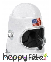 Casque d'astronaute usa pour adulte