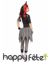 Costume d'arlequin ensanglanté pour femme, image 1