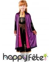Costume de Anna La Reine des neiges 2, luxe