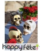 Crâne décoratif aléatoire de 14cm, image 1