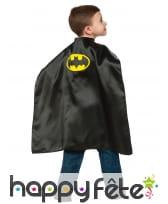Cape de Batman noire pour enfant