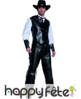 Costume de bandit armé du western