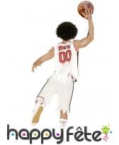 Costume de basketteur Blood tâché de sang, adulte, image 2