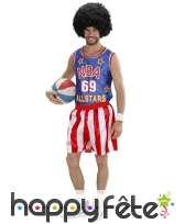 Costume de basketteur NBA