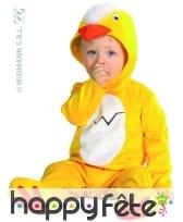 Costume de bébé poussin