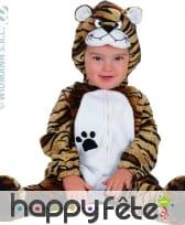 Costume de bébé tigre
