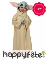 Costume de bébé Yoda pour enfant