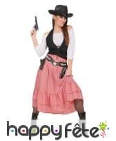 Costume de Belle de l'ouest