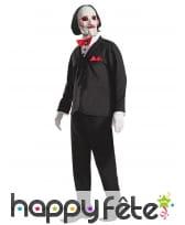 Costume de Billy Saw pour adulte