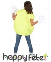 Costume de bonbon jaune avec gants, image 5