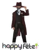 Costume de braqueur de banque western pour garçon, image 1