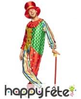 Canne de clown rouge et jaune, 89 cm, image 1