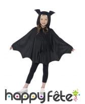 Cape de chauve souris pour enfant, avec capuche, image 1