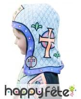 Casque de chevalier à colorier, pour enfant, image 1