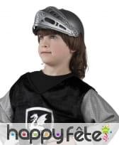Casque de chevalier pour enfant amovible