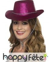 Chapeau de cowboy à paillettes, image 2