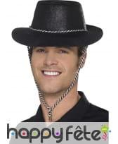 Chapeau de cowboy à paillettes, image 5