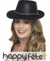 Chapeau de cowboy à paillettes, image 6