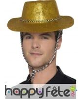 Chapeau de cowboy à paillettes, image 8