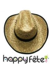 Chapeau de cowboy Arizona en paille