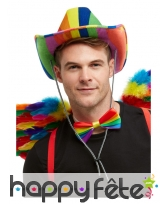 Chapeau de CowBoy GayPride