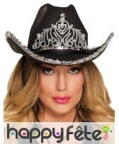 Chapeau de Cowgirl girly en feutrine, image 2