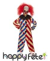 Combinaison de clown tueur pour garçon avec masque, image 1