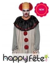 Combinaison de clown tueur pour homme adulte, image 2