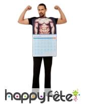 Costume de calendrier sexy pour homme, image 1