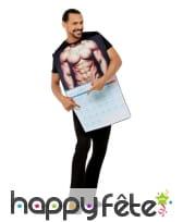 Costume de calendrier sexy pour homme