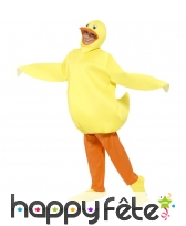 Costume de canard jaune, image 1