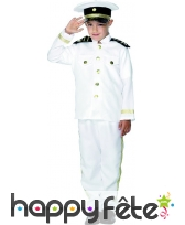 Costume de capitaine enfant