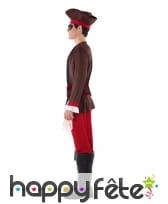 Costume de capitaine pirate pour ado, image 1
